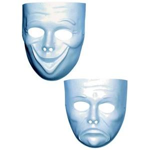 masque a peindre expressif sur achat deguisement. Black Bedroom Furniture Sets. Home Design Ideas
