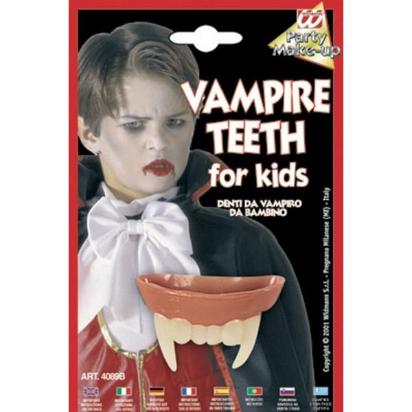 Achat deguisement pas cher maquillage halloween dents de vampire enfant - Maquillage de vampire pour fille ...
